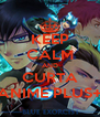 KEEP CALM AND CURTA ANIME PLUS+ - Personalised Poster A4 size