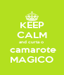 KEEP CALM and curta o   camarote MAGICO - Personalised Poster A4 size