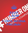 KEEP CALM AND CURTE NOSSA PÁGINA! - Personalised Poster A4 size