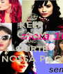 KEEP CALM AND CURTE NOSSA PAG - Personalised Poster A4 size