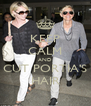 KEEP CALM AND CUT PORTIA'S HAIR - Personalised Poster A4 size