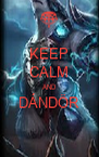 KEEP CALM AND DÁNDÖR  - Personalised Poster A4 size