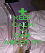 KEEP CALM AND DAB ABOUT IT!! - Personalised Poster A4 size