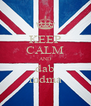 KEEP CALM AND dab mdma - Personalised Poster A4 size