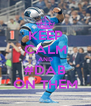KEEP CALM AND #DAB ON THEM - Personalised Poster A4 size