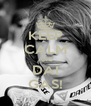 KEEP CALM AND DAI GAS! - Personalised Poster A4 size