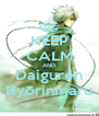 KEEP CALM AND Daiguren Hyōrinmaru - Personalised Poster A4 size