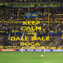 KEEP CALM AND DALE DALE  BOCA  - Personalised Poster A4 size