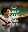 KEEP CALM AND Dale JM5 - Personalised Poster A4 size