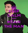 KEEP CALM AND #DAN THE MAN - Personalised Poster A4 size