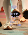 KEEP CALM AND DANCE FOLKLOR - Personalised Poster A4 size