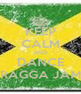 KEEP CALM AND DANCE RAGGA JAM - Personalised Poster A4 size