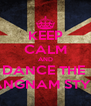 KEEP CALM AND DANCE THE  GANGNAM STYLE! - Personalised Poster A4 size
