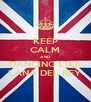 KEEP CALM AND DANCING LIKE LANA DEL REY - Personalised Poster A4 size