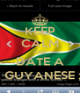 KEEP CALM AND DATE A A GUYANESE ; ) - Personalised Poster A4 size