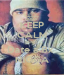 KEEP CALM AND Date a Bx  NIGGA - Personalised Poster A4 size
