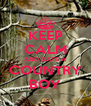 KEEP CALM AND DATE A COUNTRY BOY - Personalised Poster A4 size