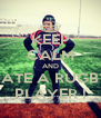 KEEP CALM AND DATE A RUGBY PLAYER ! - Personalised Poster A4 size
