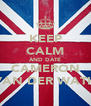 KEEP CALM AND DATE CAMERON VAN DER WATH - Personalised Poster A4 size