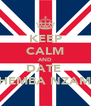 KEEP CALM AND DATE  PHEMBA NZAMA - Personalised Poster A4 size