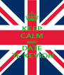 KEEP CALM AND DATE  TE'KEVION - Personalised Poster A4 size