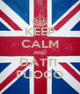 KEEP CALM AND DATTI  FUOCO - Personalised Poster A4 size