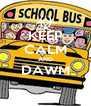 KEEP CALM AND DAWM  - Personalised Poster A4 size
