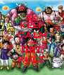 KEEP CALM AND DBZ RULZ - Personalised Poster A4 size