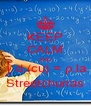 KEEP CALM AND ∫ d.(cu) = ρ.la Streetchurras - Personalised Poster A4 size