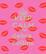 KEEP CALM AND debra  collins - Personalised Poster A4 size