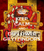 KEEP CALM AND DEFLOWER GRYFFINDORS - Personalised Poster A4 size