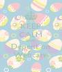 KEEP CALM AND Depent on Webcare - Personalised Poster A4 size