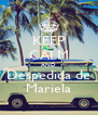 KEEP CALM AND Despedida de Mariela - Personalised Poster A4 size
