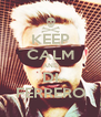 KEEP CALM AND DI FERRERO - Personalised Poster A4 size