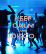 KEEP CALM AND DISCO  - Personalised Poster A4 size