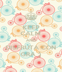 KEEP CALM AND DISFRUTA CON GRA ;) - Personalised Poster A4 size
