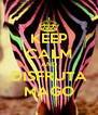 KEEP CALM AND DISFRUTA MAGO - Personalised Poster A4 size