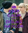 KEEP CALM AND  DISLIKE HAYLOR - Personalised Poster A4 size
