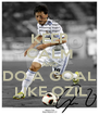 KEEP CALM AND  DO A GOAL   LIKE OZIL - Personalised Poster A4 size