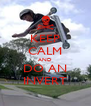 KEEP CALM AND DO AN INVERT - Personalised Poster A4 size