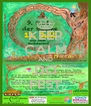 KEEP CALM AND DO FEST - Personalised Poster A4 size