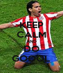 KEEP CALM AND DO GOOOL - Personalised Poster A4 size