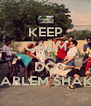 KEEP CALM AND DO 'HARLEM SHAKE' - Personalised Poster A4 size
