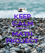 KEEP CALM AND DO MATH PROJECT - Personalised Poster A4 size