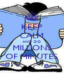 KEEP CALM AND DO MILLIONS OF MINUTES - Personalised Poster A4 size