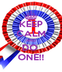 KEEP CALM AND DO  ONE!! - Personalised Poster A4 size