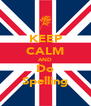 KEEP CALM AND Do Spelling - Personalised Poster A4 size