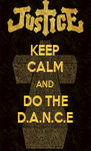 KEEP CALM AND DO THE D.A.N.C.E - Personalised Poster A4 size