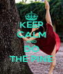 KEEP CALM AND DO THE PINE - Personalised Poster A4 size