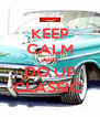 KEEP CALM AND DO UP CLASSIC  - Personalised Poster A4 size